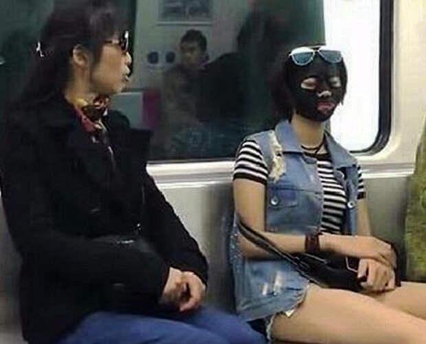 Косметическая маска.