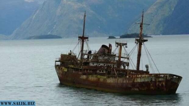 Корабль-призрак, который таинственно появился спустя век