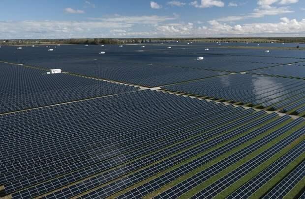Солнечные панели КНР энергетика