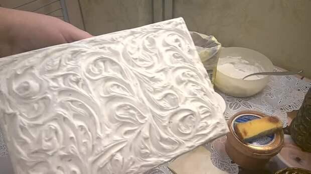 Легко, быстро и красиво декорируем поверхность самыми простыми материалами