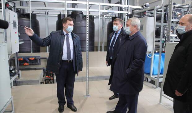 Жители Новошахтинска ксентябрю получат стабильное водоснабжение понацпроекту