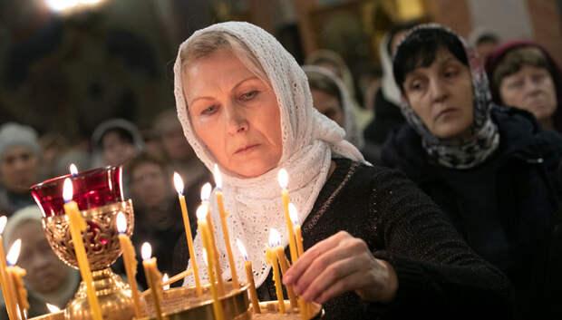 Посещение храмов запретили в Подмосковье до 19 апреля