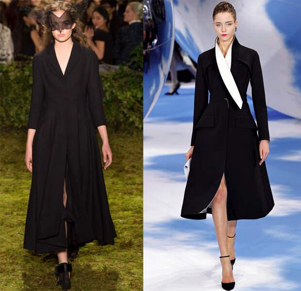 Платье-пальто от Christian Dior
