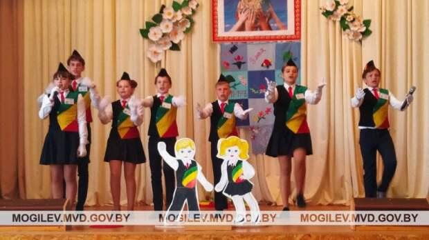 Команда ЮИД бобруйской гимназии № 2 победила на областном слете.