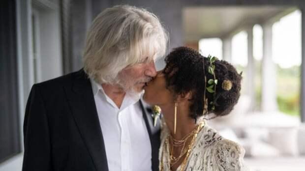 Лидер Pink Floyd сыграл пятую свадьбу в 78 лет