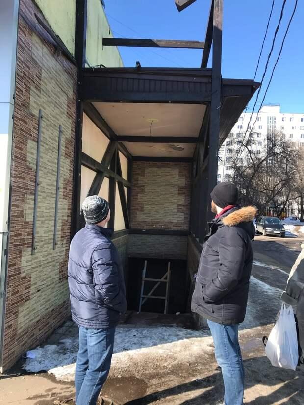 Аварийную пристройку в проезде Дежнёва приведут в порядок — управа