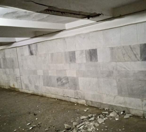 Администрация Автозаводского района отремонтирует подземный переход на станции Кировская