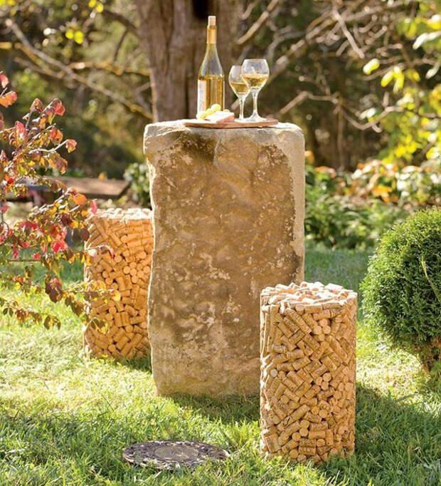 табуретки для сада