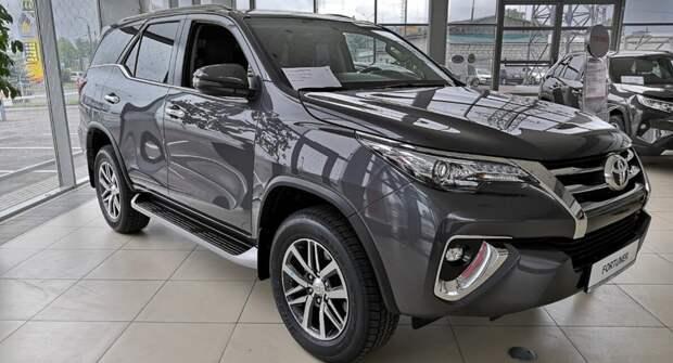 В мае 2021 года Toyota изменила цены на три свои модели в России