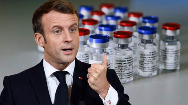 """Макрон: """"Спутник V"""" не поможет ускорить вакцинацию в Европе"""