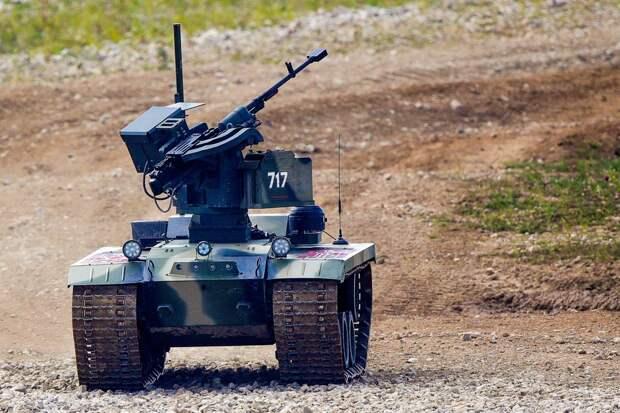 В России начали производить боевых роботов с искусственным интеллектом