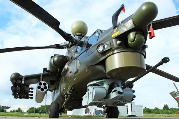 Западное СМИ назвало Ми-28НМ «Убийцей Апачей»