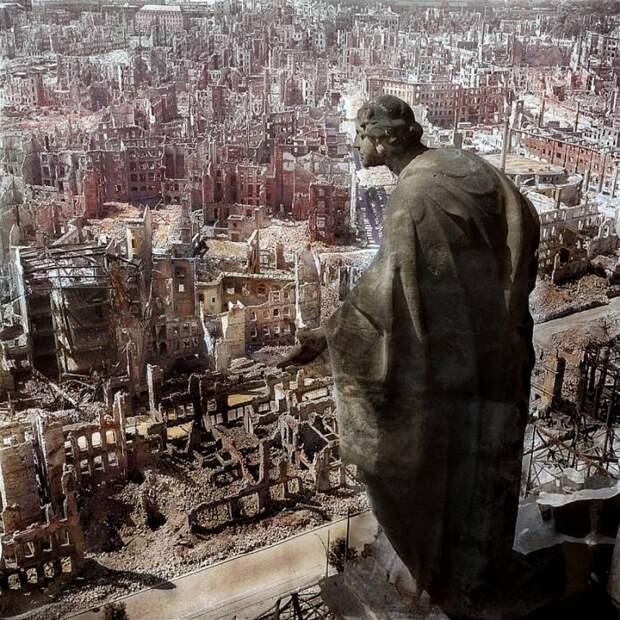 Бомбардировка Дрездена: как англичане и американцы аннигилировали столицу Саксонии