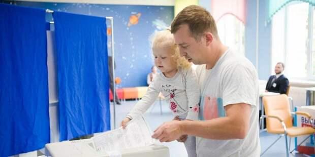 Международные эксперты высоко оценили работу участка для голосования. Фото: mos.ru