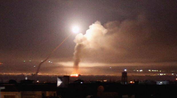ПВО Сирии отразили ракетный удар Израиля к югу от Дамаска