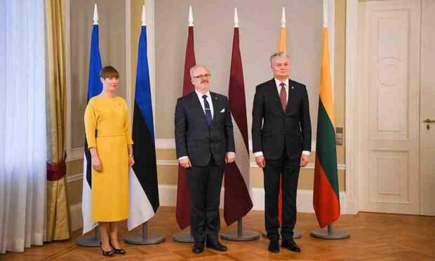 Президенты стран Прибалтики выступили с совместным заявлением
