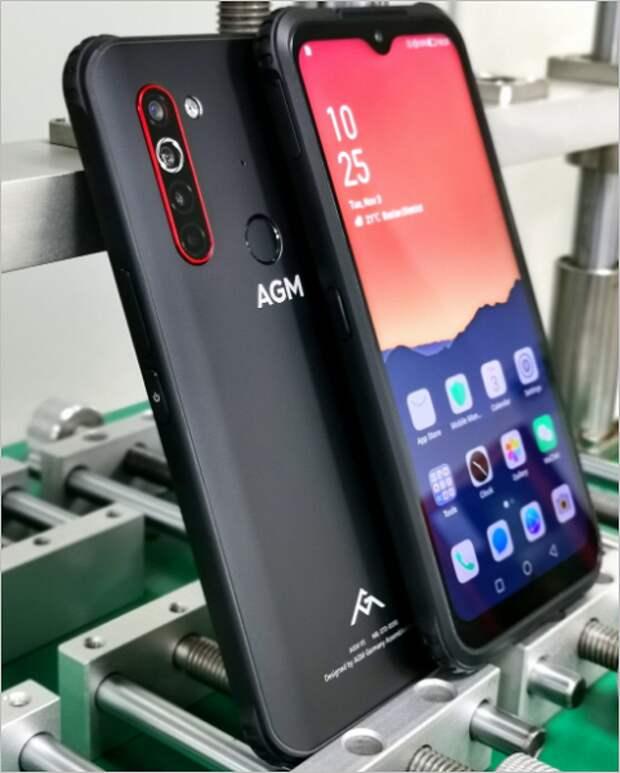Неубиваемый смартфон с 5G, 12 ГБ ОЗУ и 108 Мп. AGM X5 выйдет в Китае и во всём мире