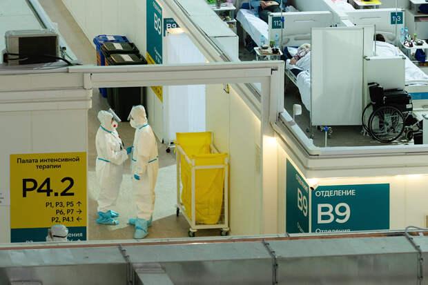 В России за сутки выявлено 16715 случаев коронавируса