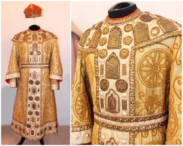 Костюм Царя Салтана. Деталь костюма. Фото Ирины Жигмунд