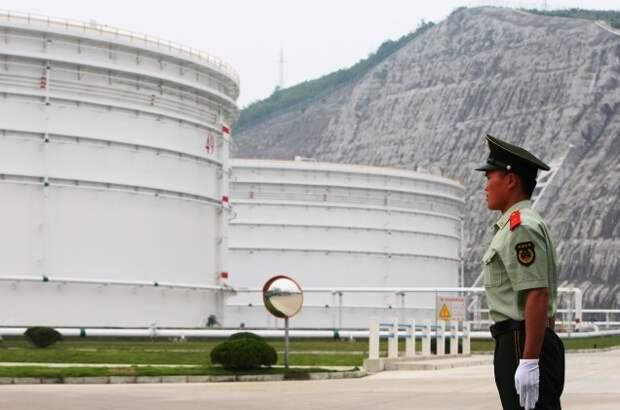 Китай хранилище нефти
