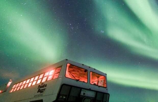 Канадцев приглашают на ужин под северным сиянием