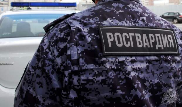 В Митине росгвардейцы задержали неадекватного мужчину с топором
