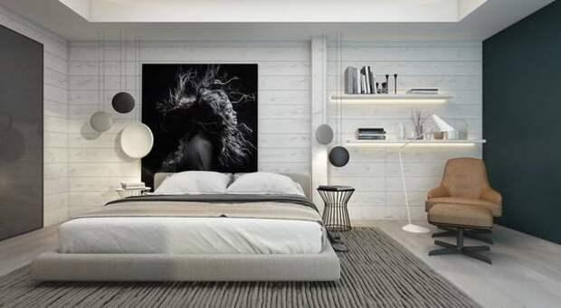 Стены в спальне: примеры оформления, советы экспертов