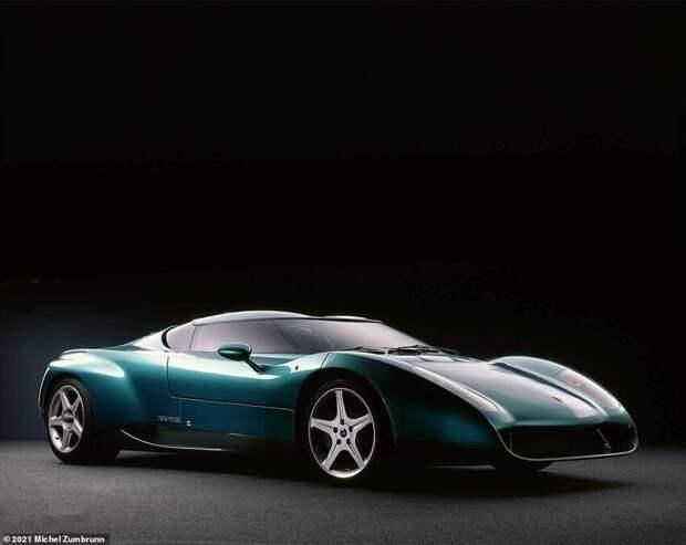 4. Lamborghini Raptor Zagato 1996 года
