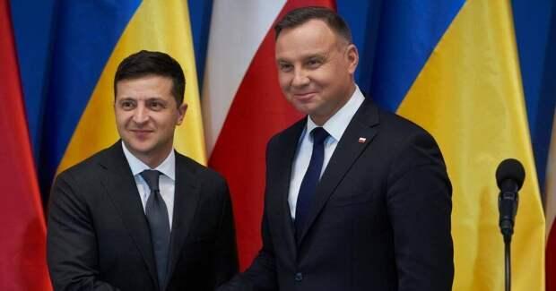 Польские СМИ: Дуда готовит для Зеленского грузинский сценарий