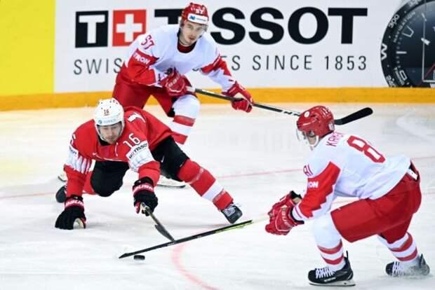 Сборная России обыграла Швейцарию в матче группового этапа ЧМ-2021