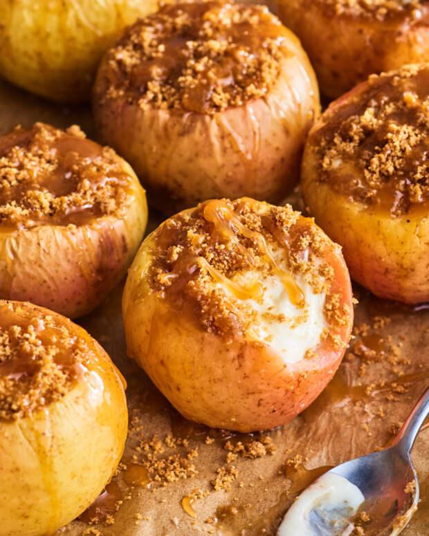 Яблочный чизкейк. \ Фото: thekitchn.com.