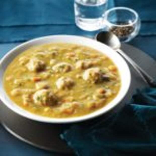 Простой пучеро – испанский гороховый суп
