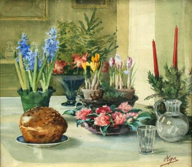 Источник: ivlevadv.wixsite.com. Ольга Романова «Пасха» (ХХ век)