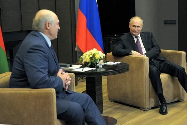 Подведены итоги переговоров Путина и Лукашенко