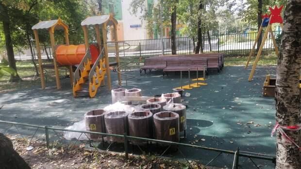 Новый игровой комплекс установят на детской площадке на Ботанической
