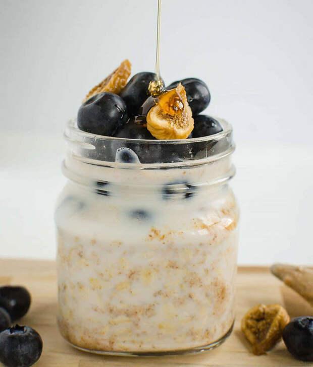 Веганский полезный завтрак на скорую руку