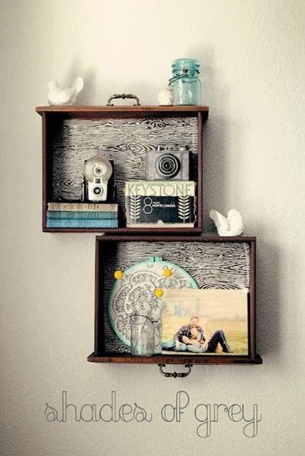 20 отличных идей использования старых мебельных ящиков