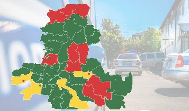 Карту аварийности дорог создали для Ростовской области