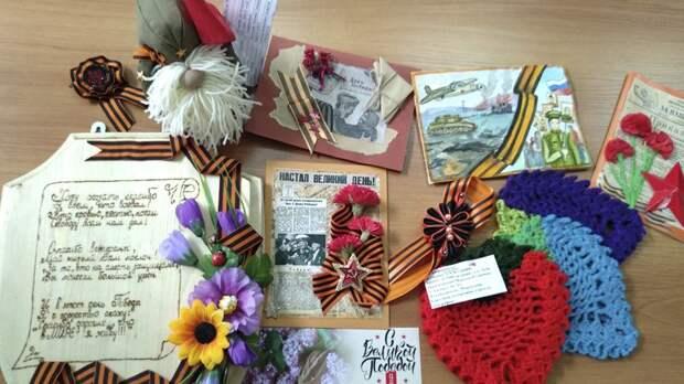 В рамках празднования 76-летия Великой Победы организован библиотечный десант
