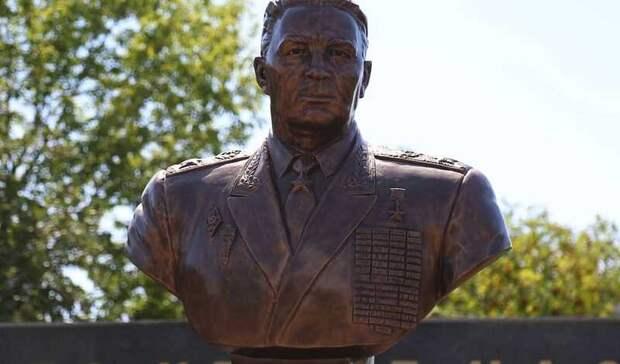 Памятный бюст Герою Советского Союза открыли в Ижевске