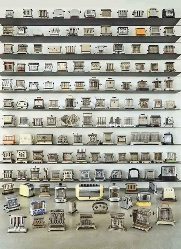 Удивительные коллекции самых разных вещей