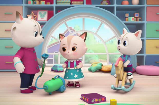 «Кошечки-Собачки» занялись забавной уборкой