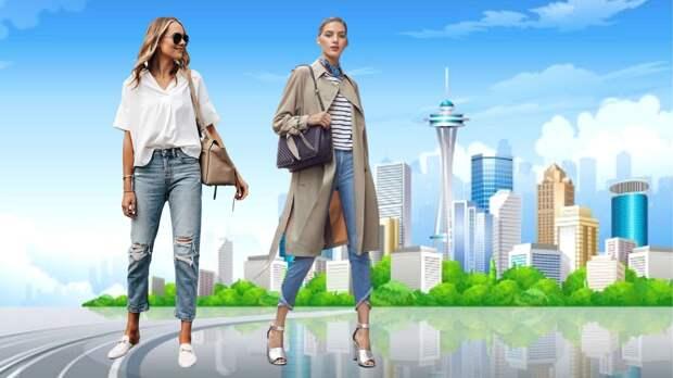 """Как носить """"потрепанные"""" джинсы и не выглядеть небрежно: возрастной стиль"""