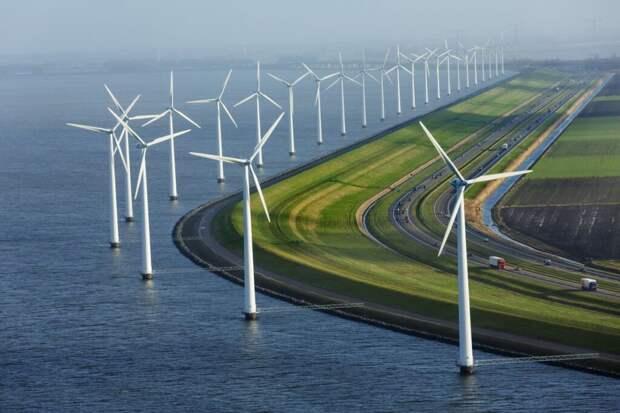 Дания в Северном море построит «энергетический остров»