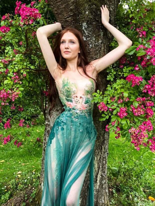 Сильви Факон платья природа