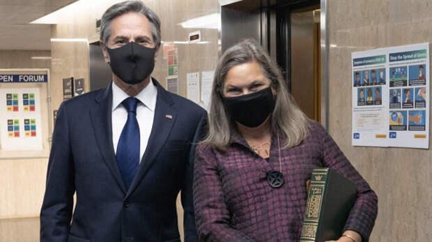Энтони Блинкен и Виктория Нуланд прилетели в Киев