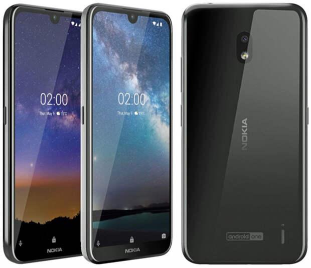 Анонсирован бюджетный смартфон Nokia 2.2 с челкой