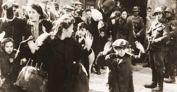 Перемещение в гетто взрослых и детей