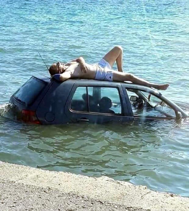 17 нелепых дорожных ситуаций, которые с трудом поддаются объяснению