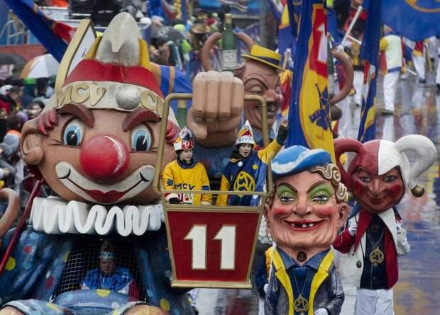 Неполиткорректный карнавал в Германии